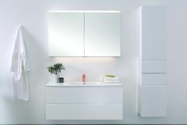 Formia 120 Enkel Hvit miljø tynn Porselen servant