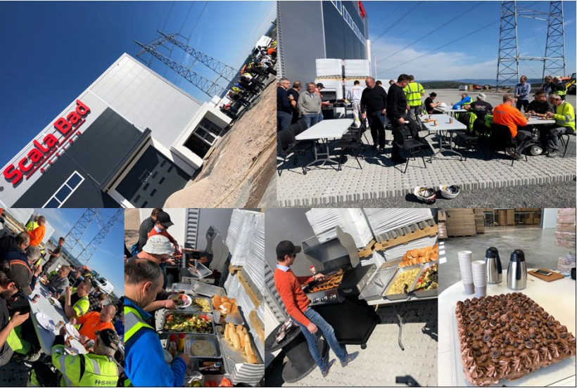 Grillparty for håndverkerne 15. mai 2019